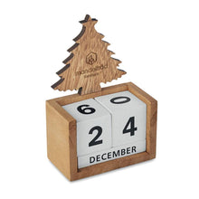 Load image into Gallery viewer, Christmas Tree Desk Calendar