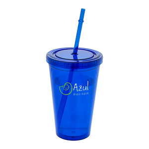 Cyclone Tumbler With Straw
