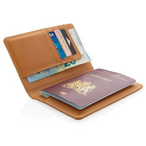 Eco Cork  RFID Passport Cover