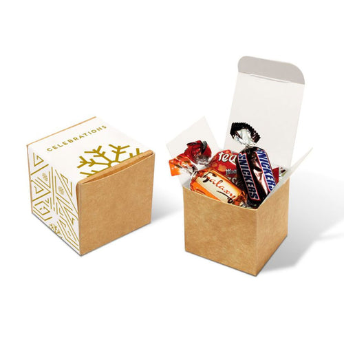 Celebrations Eco Kraft Cube