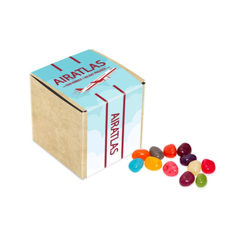Jelly Beans Eco Kraft Cube 50g