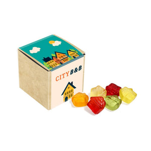 Fruit Gums Eco Kraft Cube