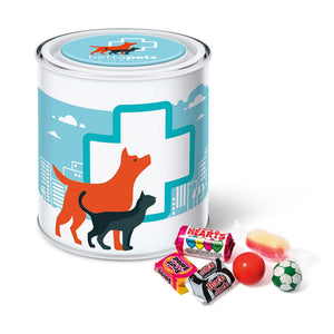 Retro Sweets Large Paint Tin