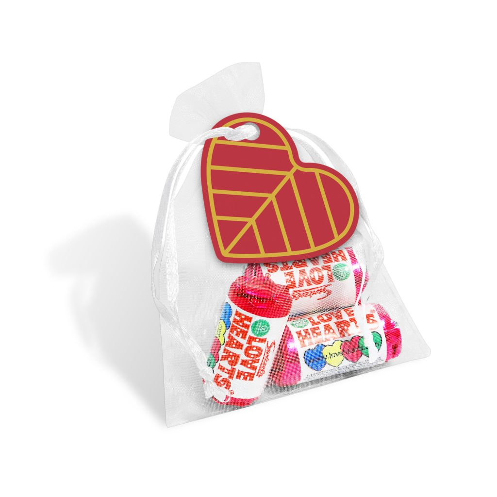Organza Bag Love Hearts