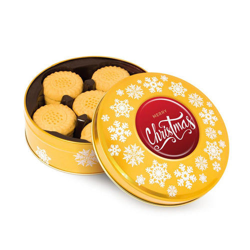 Shortbread Biscuits Gold Share Tin