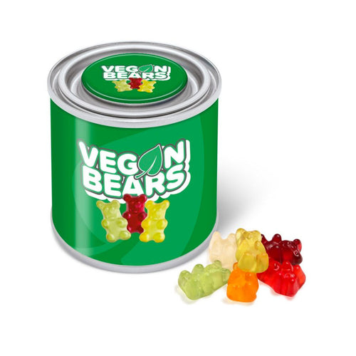 Vegan Bears Small Paint Tin