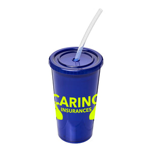 Stadium Cup With Straw