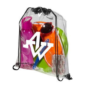 Transparent Drawstring Backpack
