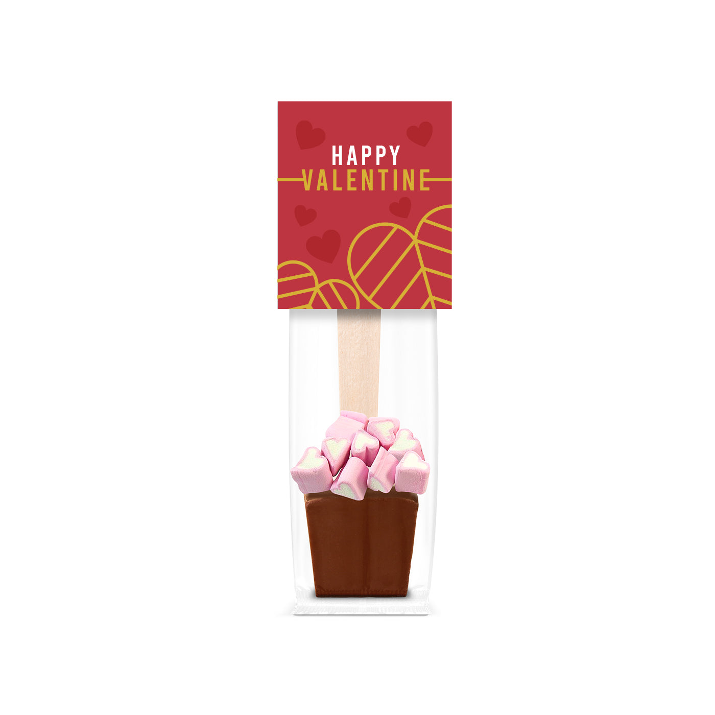 Valentines Hot Chocolate & Marshmallows Bag