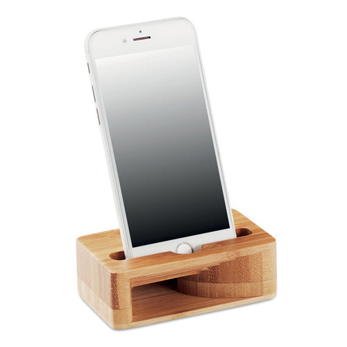 Bamboo Phone Amplifier Stand