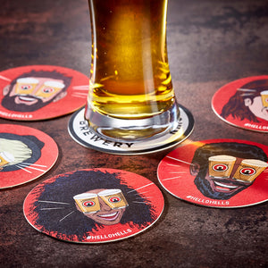 Beer Mat Circle or Square