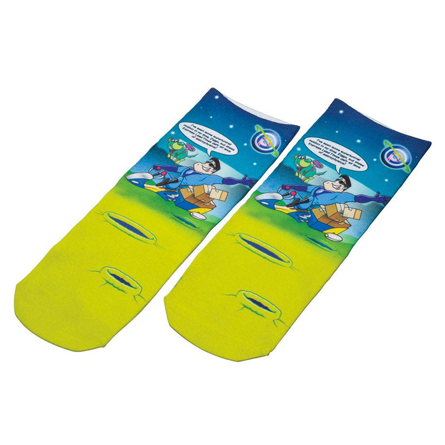 Kids Short Socks Full Colour