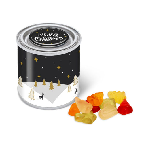 Paint Tin Christmas Fruit Gums