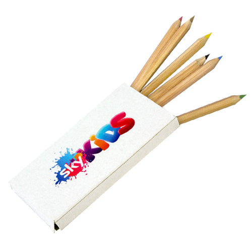 Half Size Eco Colouring Pencils