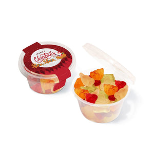 Eco Maxi Pot Christmas Fruit Gums