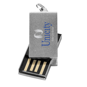 Mini Rotate Aluminium USB 2GB