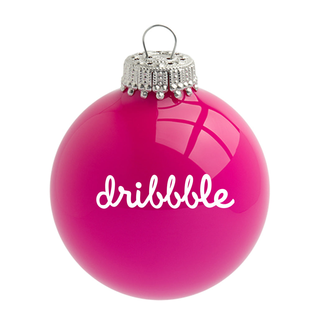 Neon Glass Christmas Bauble