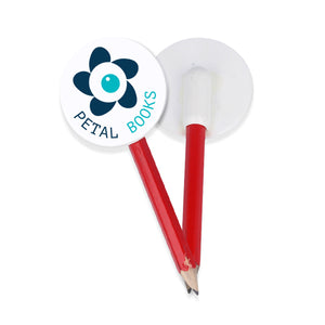 Eco Pencil Toppers (White)