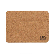Load image into Gallery viewer, Eco Cork RFID Slim Wallet