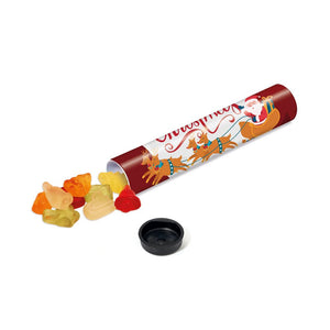 Sweet Tube Christmas Fruit Gums