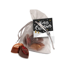 Load image into Gallery viewer, Valentines Cocoa Bean Truffles - Organza Bag
