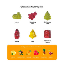 Load image into Gallery viewer, Eco Kraft Cube Christmas Fruit Gums
