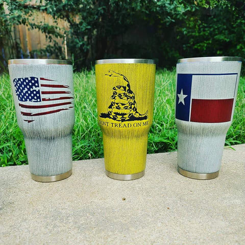 Custom Tumblers - Veterans Edge