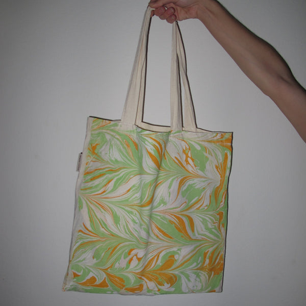 Marbled Tote Bag 1/1 R2S