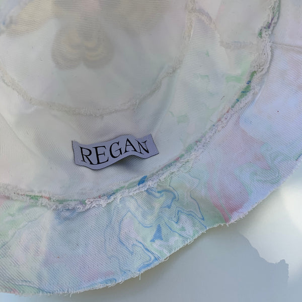 Regan X BP Marbled Bucket Hat