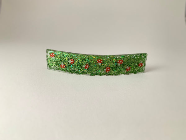 Large Jetty Barrette-Toadstool