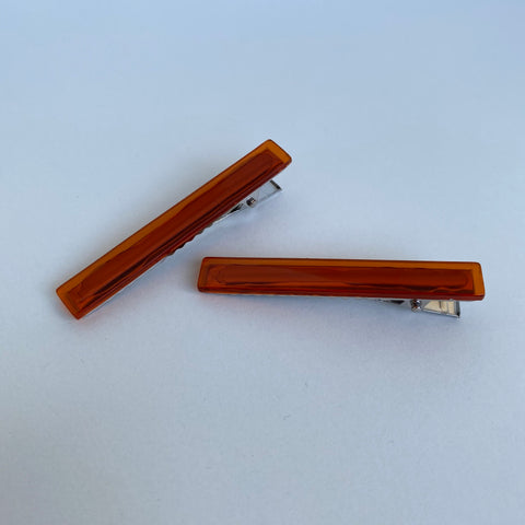 [Made To Order] County Line Clip Set- Burnt Orange