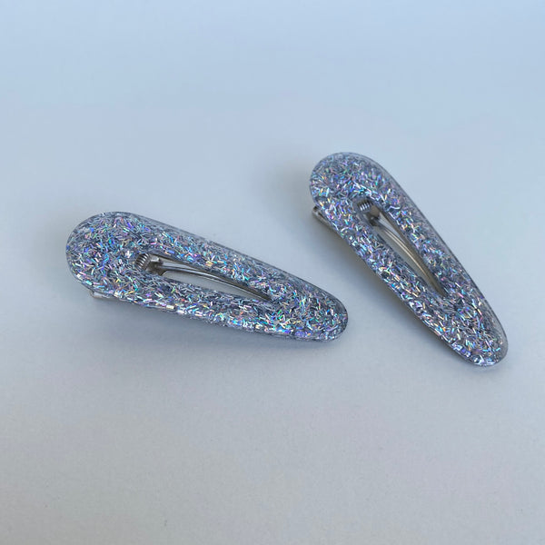 [Made To Order] San O Clip Set- Sterling Tinsel