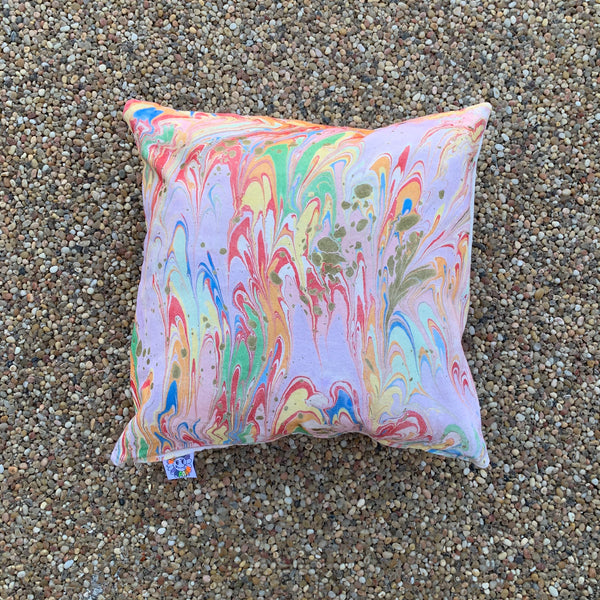 Marbled Pillow #2
