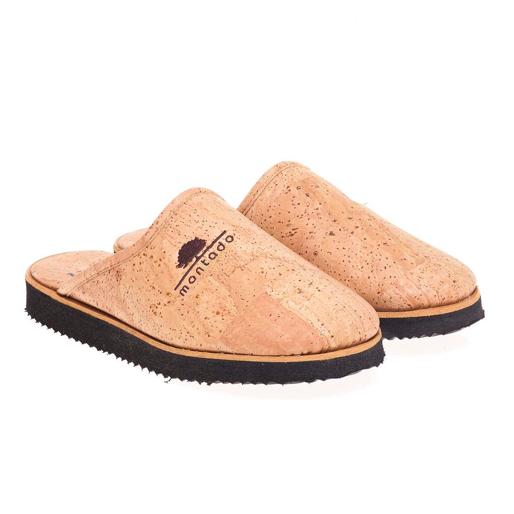 Vegan Cork Slippers Open
