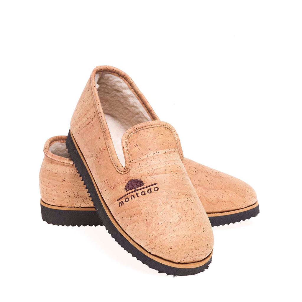 Vegan Cork Slippers | Elden