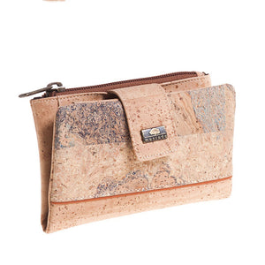 Damen Cork Wallet Mapa III