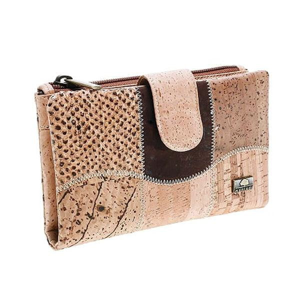 Brown Square Cork Wallet - cultura-portuguesa