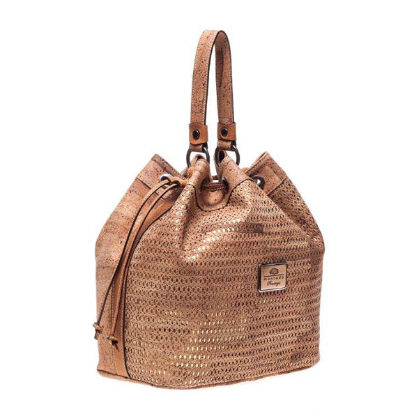 Bea Brown Cork Bag
