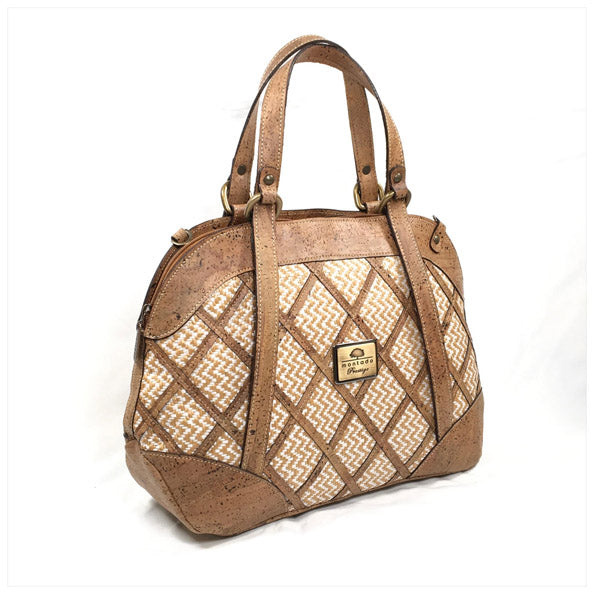 Diamond Cork Bag