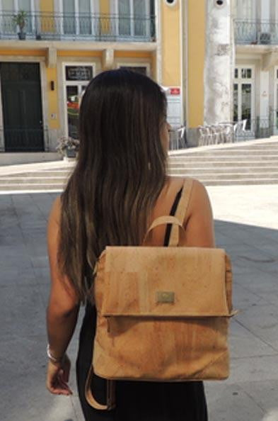 Cork Backpack Vegan Icono - cultura-portuguesa