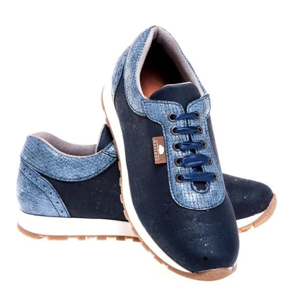 Blue Cork Sneakers Prodigy