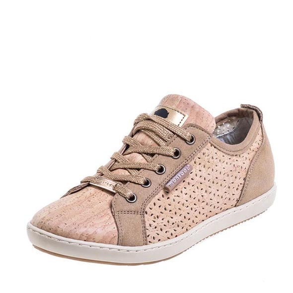 Low Top Cork Sneakers