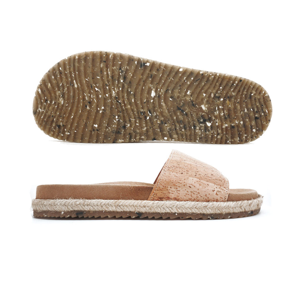 Basics | Recycled Cork Sandals
