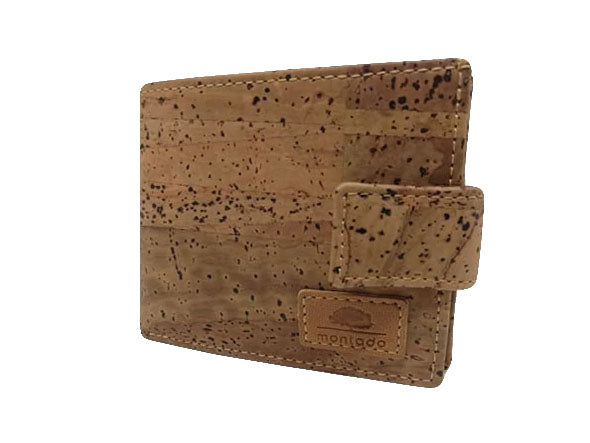 Brown  Men Cork Wallet