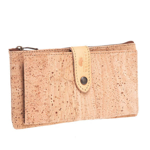 Big Cork Clip Purse - cultura-portuguesa