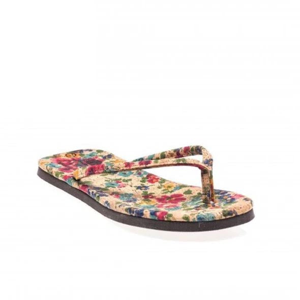 Havai Flowers Cork Sandals
