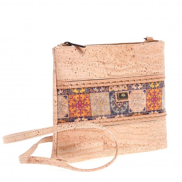 Crossbody Cork Bag Tile - cultura-portuguesa