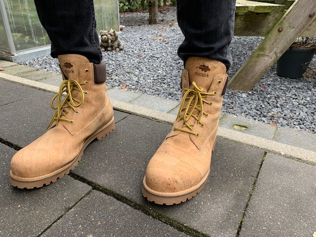 Cork Hiking Boots