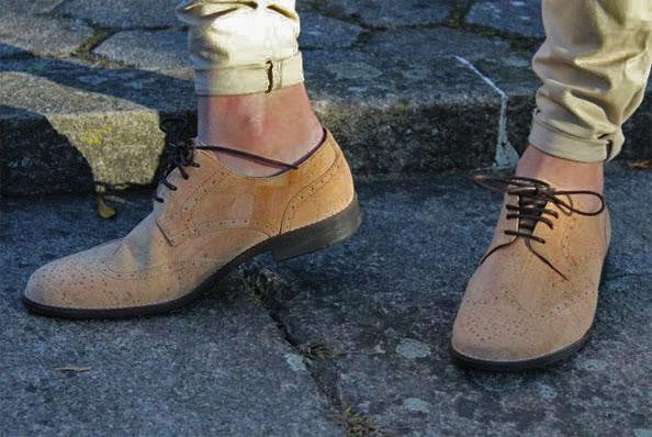 Cork Shoes Oxford Ocreza - cultura-portuguesa