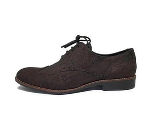 Oxford Brown Cork shoes